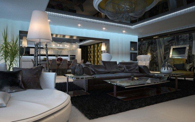 луксозен интериор за апартамент