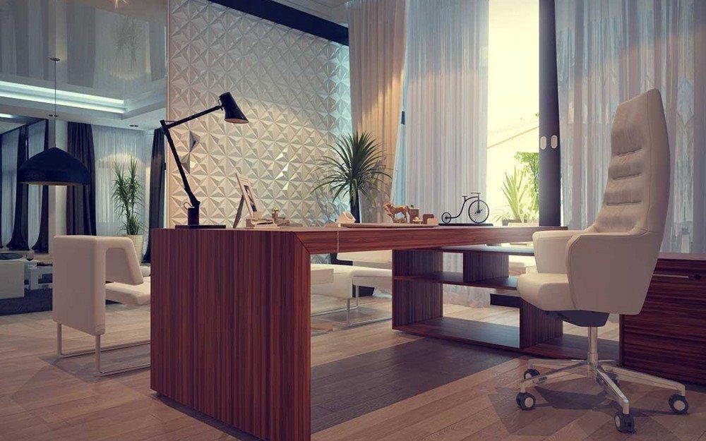 интериорен дизайн на домашен офис