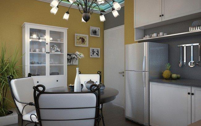 дизайн на интериор на кухня
