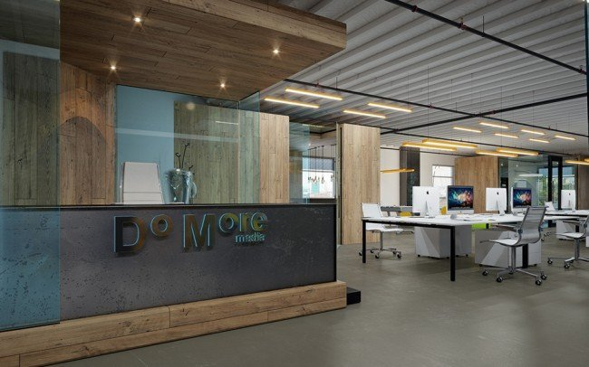 вътрешен дизайн на офис и рецепция