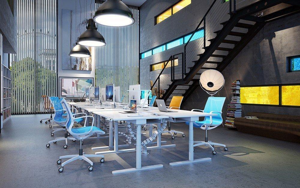 проектиране на работна зона в малък офис Чолаков Гонгалов архитекти