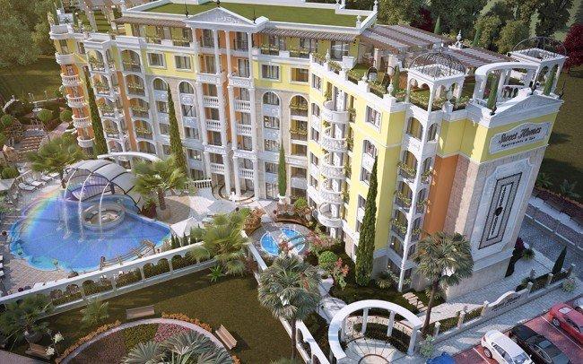 ландшафтни проекти за хотел в Слънчев бряг