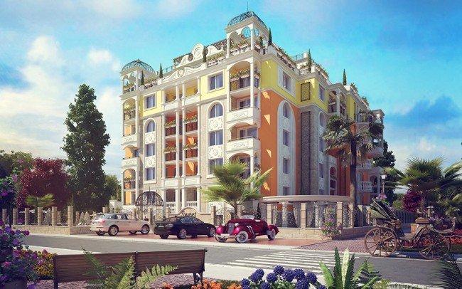проектиране на апартхотел