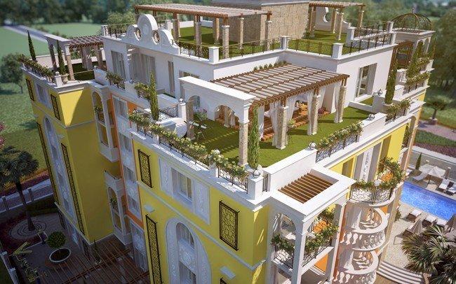 дизайн на апартхотел отвисоко