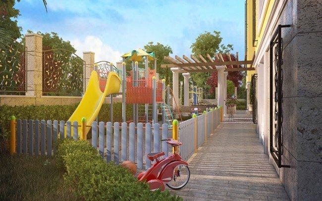 дизайн на детска площадка в хотел