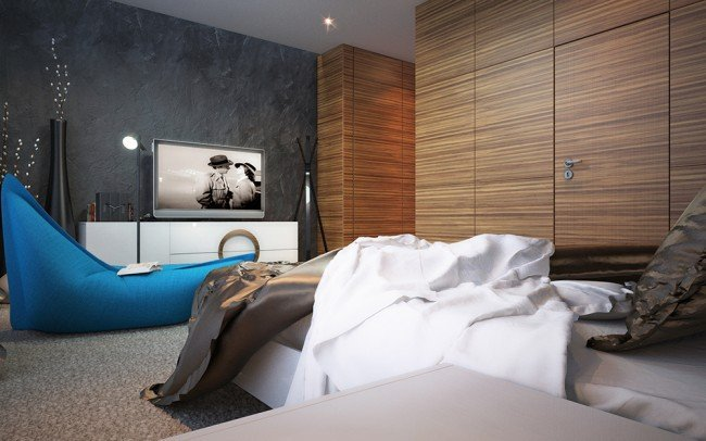 дизайн на интериор в стая за гости