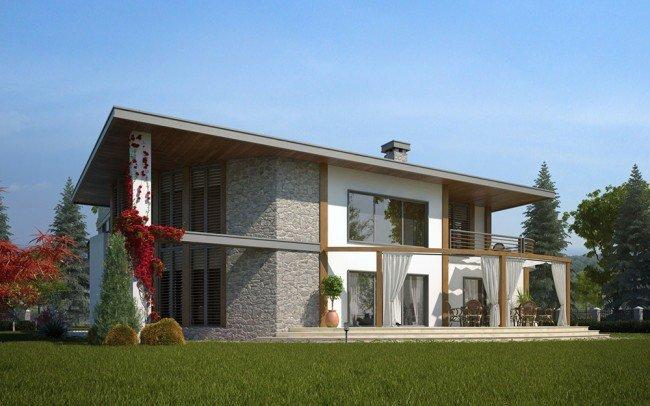 ландшафтен дизайн на къща