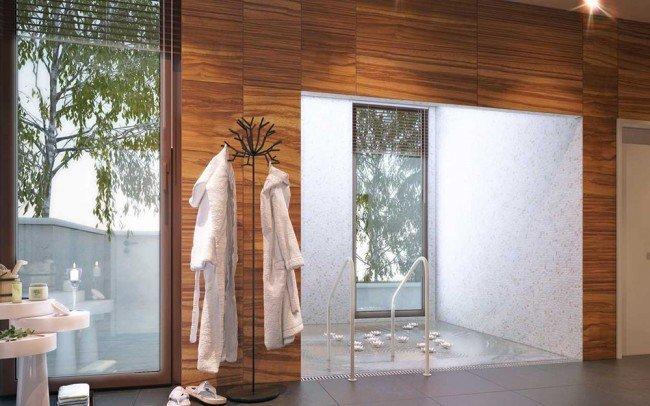 интериорен дизайн на частно СПА