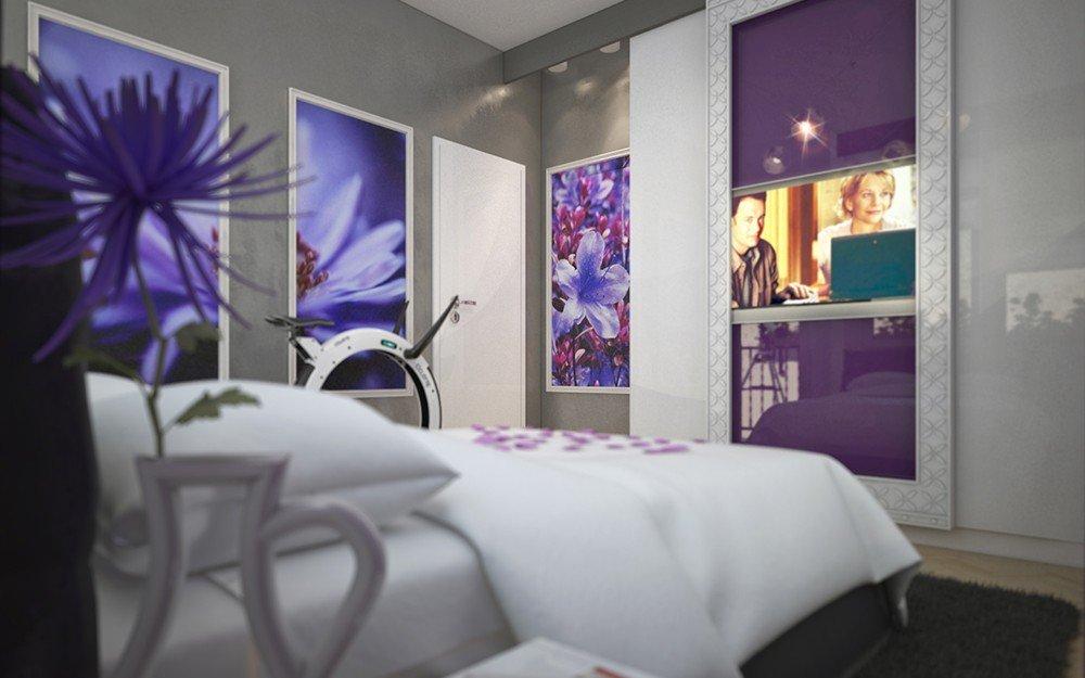 проект за дизайн на спалня
