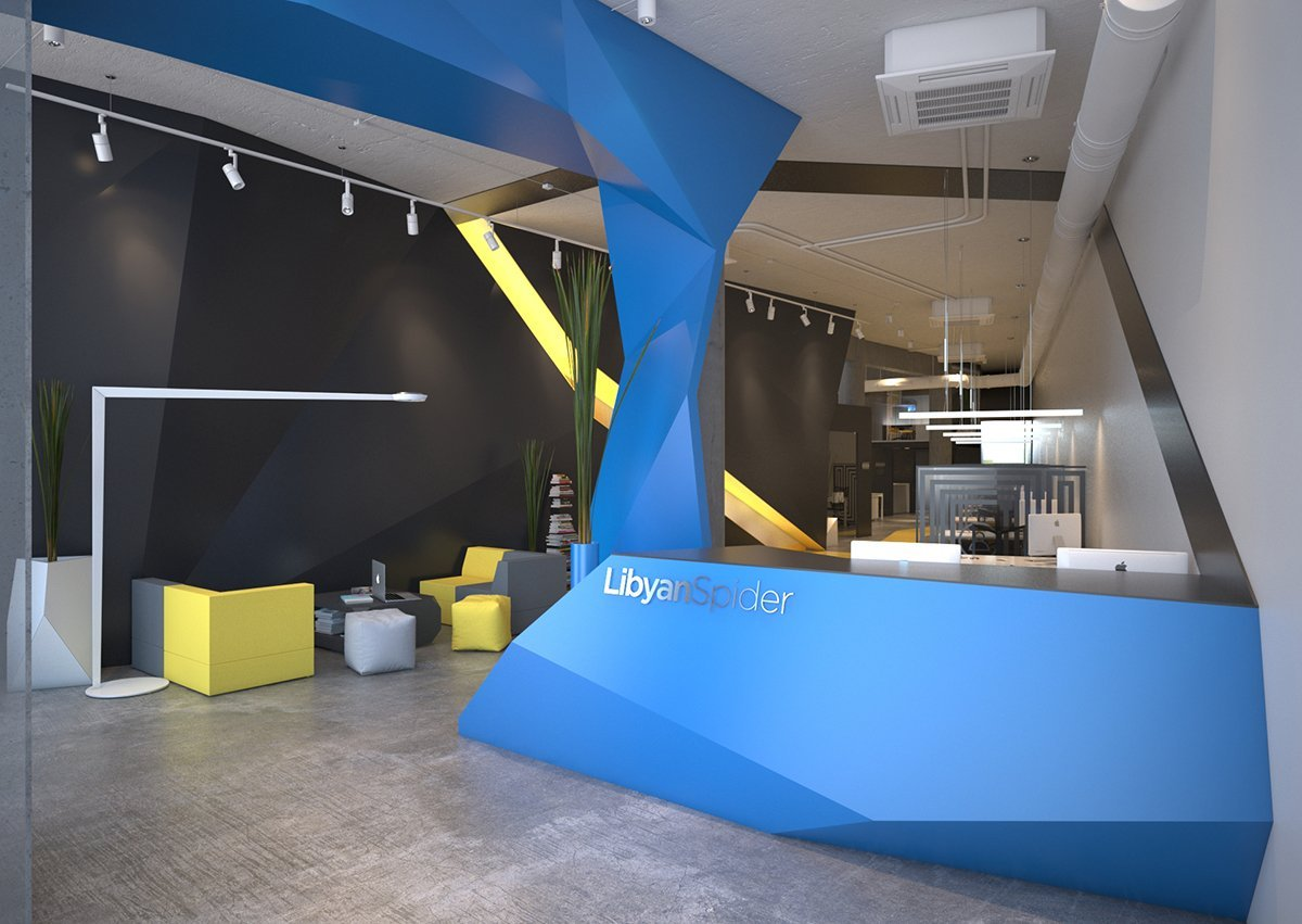 Office interior design project for Office interior projects