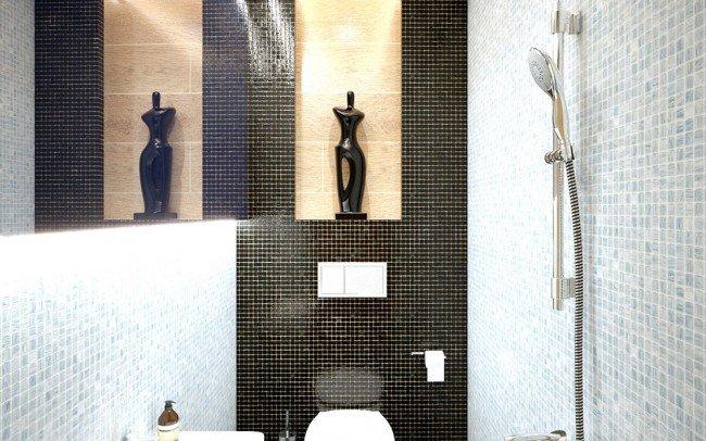 дизайн на баня за апартамент в София