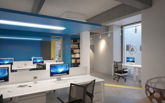 дизайн на IT офис и отворено пространство архитекти Чолаков Гонгалов