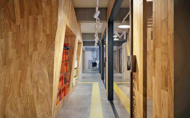 нестандартен дизайн на офис и кабинети