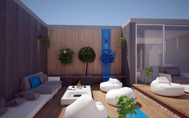 Дизайн на градини и релакс зона за офиси