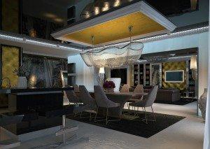 вътрешен дизайн на трапезария за апартамент
