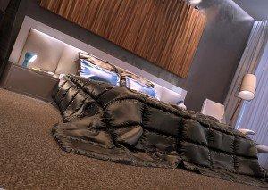 голямо легло в стая за гости