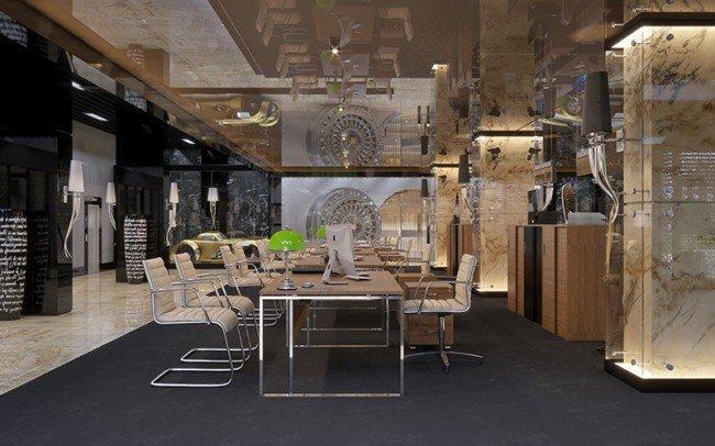 проектиране на банков офис