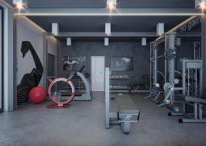 проект на частен фитнес