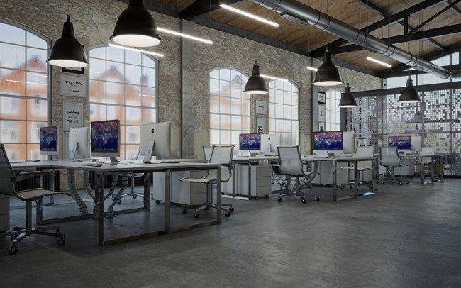 проектиране на open space офис архитекти Чолаков Гонгалов