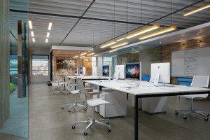 дизайн на open space офис