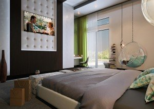модерен дизайн на спалня с детска архитекти Чолаков Гонгалов