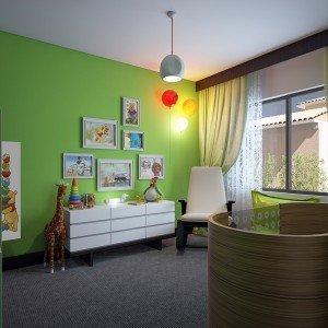 вътрешен дизайн на стая за бебе