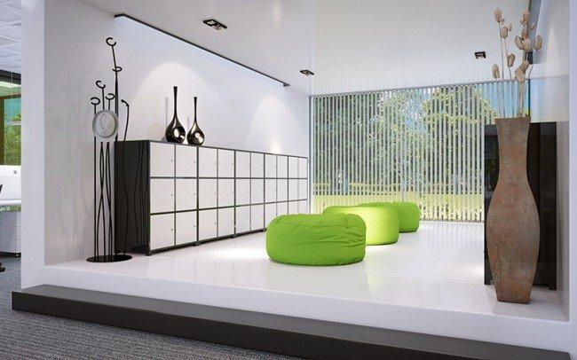 дизайн на стая за почивка в офис