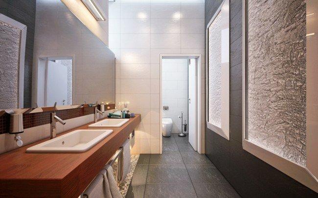 дизайн на баня към спалня