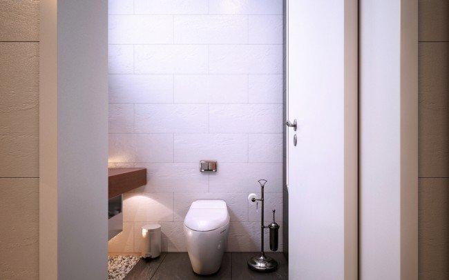 обзавеждане на баня към стая за гости