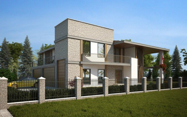 проектиране на двуетажна къща архитекти Чолаков Гонгалов