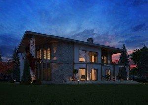 проект на еднофамилна къща
