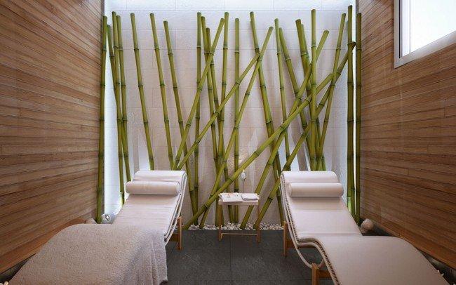 вътрешен дизайн на зала за масажи