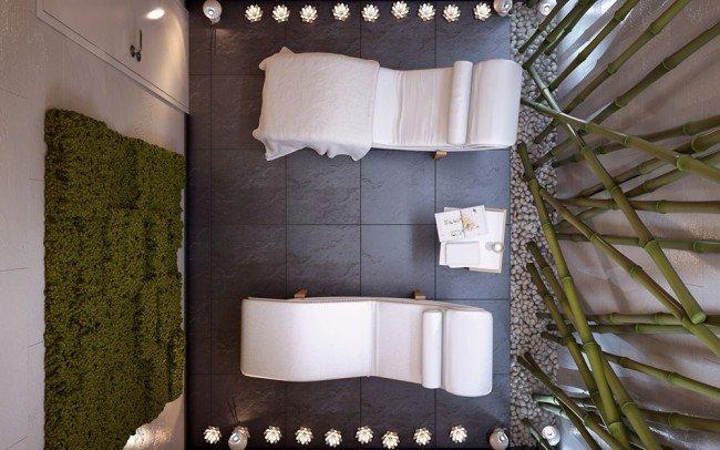 зала за масажи в частно СПА