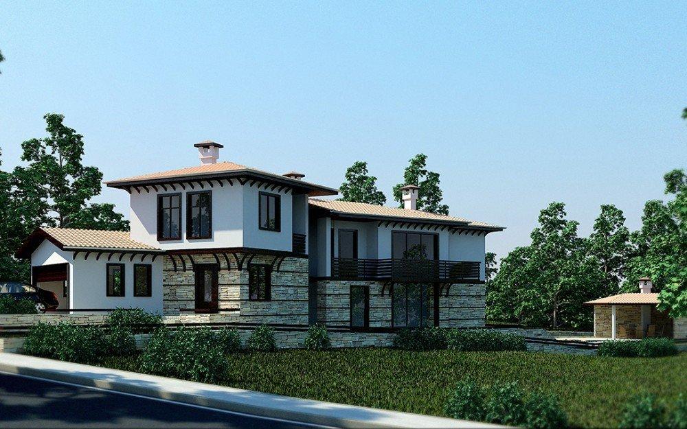 проектиране на традиционна българска къща