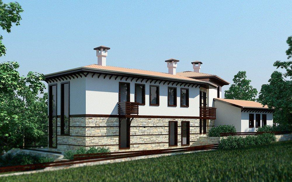 дизайн на традиционна къща