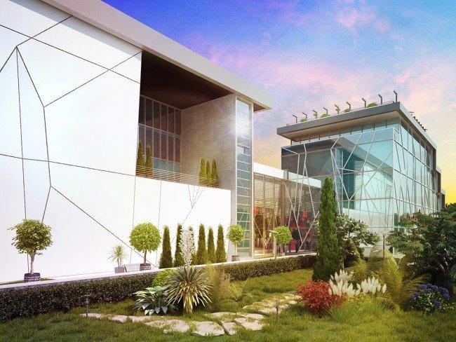 Проектиране на офис сграда на Walltopia за конкурс