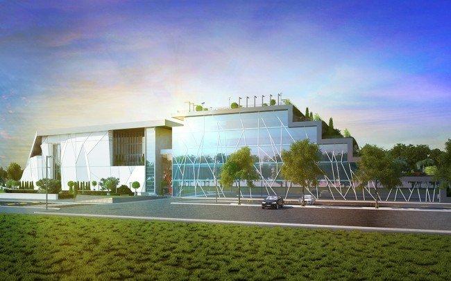 архитектурно проектиране на офис сграда на Walltopia