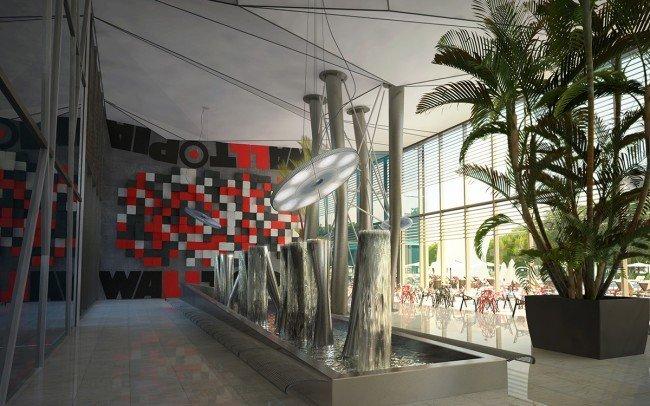интериорен дизайн на офис сграда на Walltopia архитекти Чолаков Гонгалов