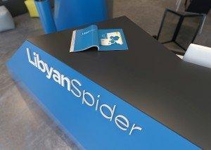 интериорен дизайн на офиса на Libyan Spider