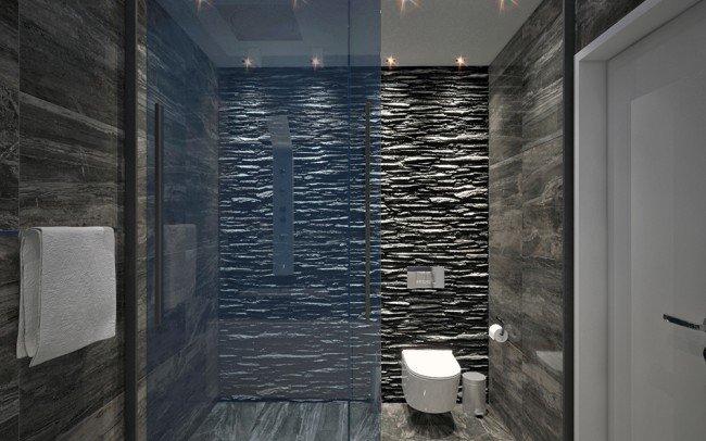 дизайн на баня и тоалетна в модерен стил